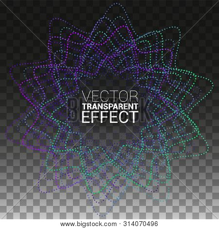 Minimalistic Abstract Line For Album Music Or Other Cover. Design Element Of Lines With Same Random