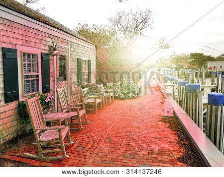 Harbour Houses Sunset Nantucket Island