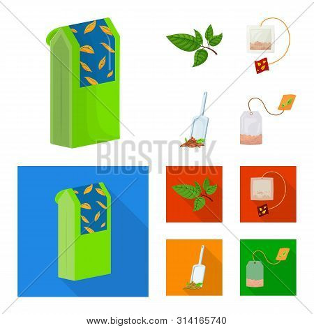 Isolated Object Of Healthy And Floral Symbol. Collection Of Healthy And Gradient Stock Vector Illust