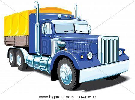 Heavy cargo truck (My design)