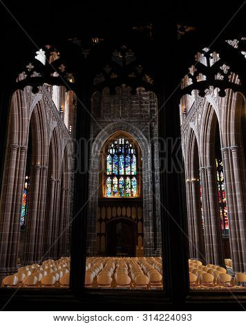 Manchester Cathedral Interior Details
