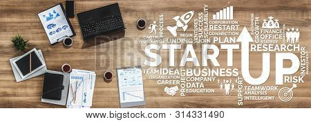 Start Up Business Of Creative People Concept.