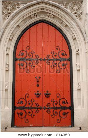 Arched Kirk Door