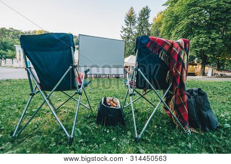 Super Open Air Cinema Image Photo Free Trial Bigstock Ncnpc Chair Design For Home Ncnpcorg