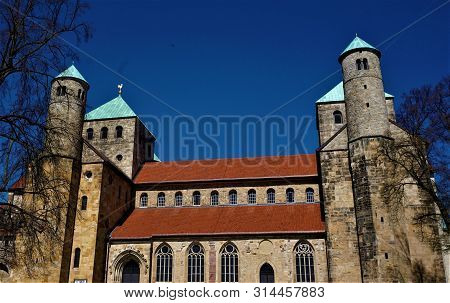 The Early-romanesque St. Michael's Church In Hildesheim