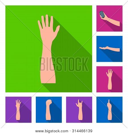 Bitmap Illustration Of Animated And Thumb Icon. Collection Of Animated And Gesture Stock Bitmap Illu