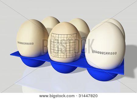 Egg With Sudoku