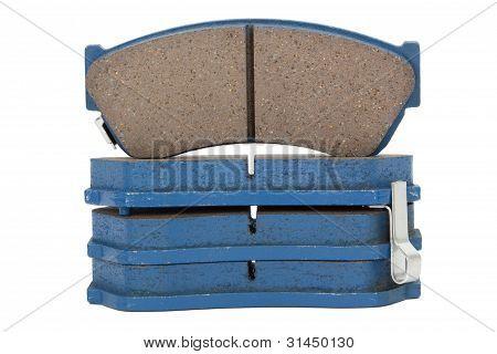 New Brake Pads Disk Brake (isolated)
