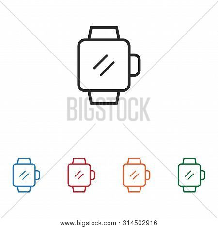 Smartwatch Icon Isolated On White Background. Smartwatch Icon In Trendy Design Style. Smartwatch Vec