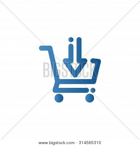 Add To Cart Icon. Shopping Cart Vector, Trolley Logo, Shopping Cart Logo, Web Icons, Trolley Icon, S