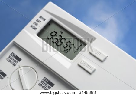 Sky Thermostat 55 Degrees Heat V2