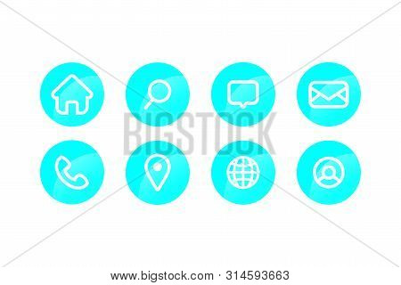 Icon Pack, Home Icon, Telephone Icon, Mail, Icon, Navigatiopn Icon, Location Pin Icon, Place Icon, W