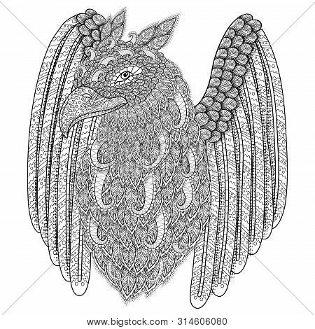 Adult Coloring Page Vector & Photo (Free Trial) | Bigstock