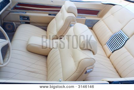 Old Cabriolet Interior