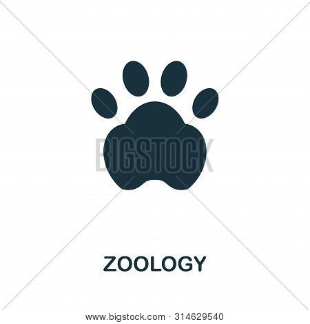 Zoology Vector Icon Symbol. Creative Sign From Science Icons Collection. Filled Flat Zoology Icon Fo