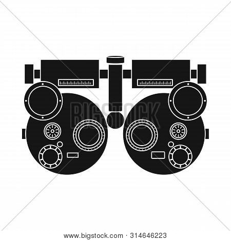 Vector Design Of Gadget And Optometrist Logo. Collection Of Gadget And Check Vector Icon For Stock.