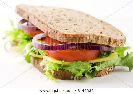 Sandwich With Cheese And Vegetables 2