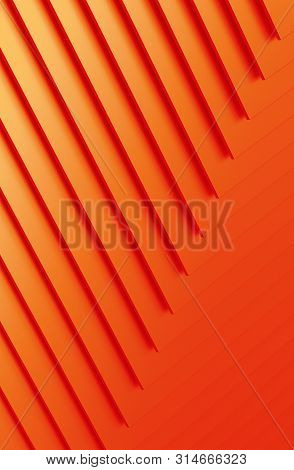 The Abstract Colorful Metal Pattern Background. 3d Illustration.