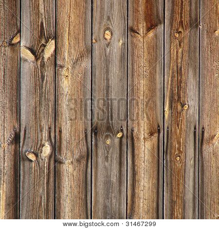 Natural Brown Old Wooden Board Background