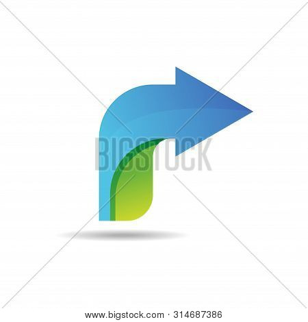 Right Arrow Icon Isolated White Background, Right Arrow Logo, Right Arrow Icon Eps10, Right Arrow Ic