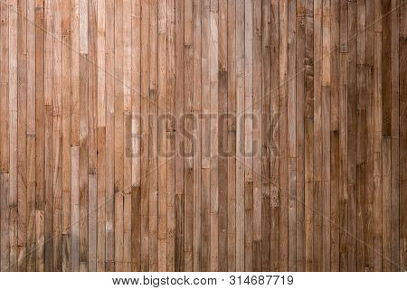 Wood Plank Texture And Background Concept - Natural Old Wood Plank Wall Or Wooden Floor Of Vintage H