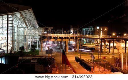 Santiago De Chile, Chile . September, 9 - Comodoro Arturo Merino Benítez International Airport, Also