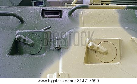 The New Embrasure Of Armoured Troop-carrier Wheeled