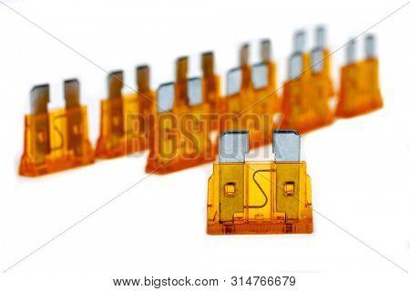 Car Fuse  Pile Od Image & Photo (Free Trial) | Bigstock