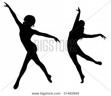 Ballett Tanz Mädchen