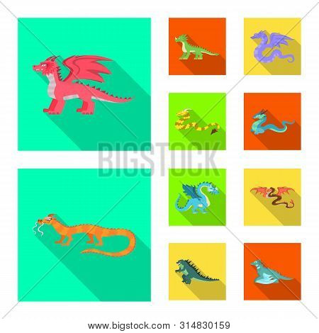 Isolated Object Of Legend And Halloween Symbol. Collection Of Legend And History Stock Symbol For We
