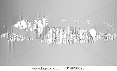 Rey Torn Fabric 3d Render Image Background