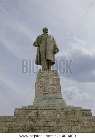 The Biggest Lenin's Monument In The World