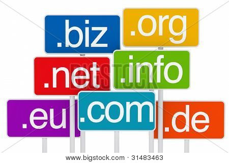 Domain Signboard