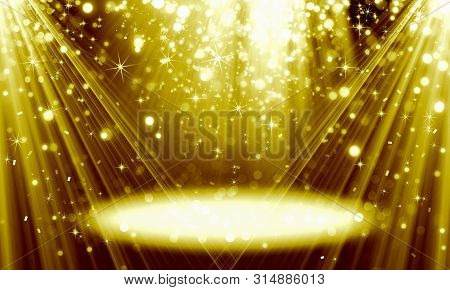Abstract, Fine Art ,background, Birthday ,black ,spot ,bokeh, Bright ,bright Gold Background, Holida
