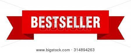Bestseller Ribbon. Bestseller Isolated Sign. Bestseller Banner