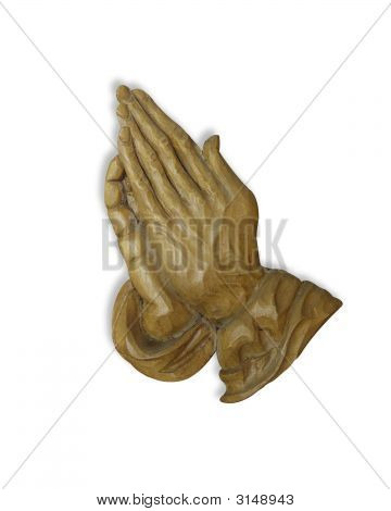 Молиться руки 3D