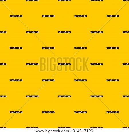 Step By Step Infographic Pattern Seamless Vector Repeat Geometric Yellow For Any Design