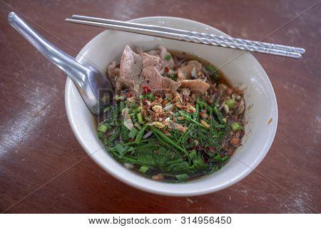 The Spicy Noodles , Thailand Delicious Taste Food