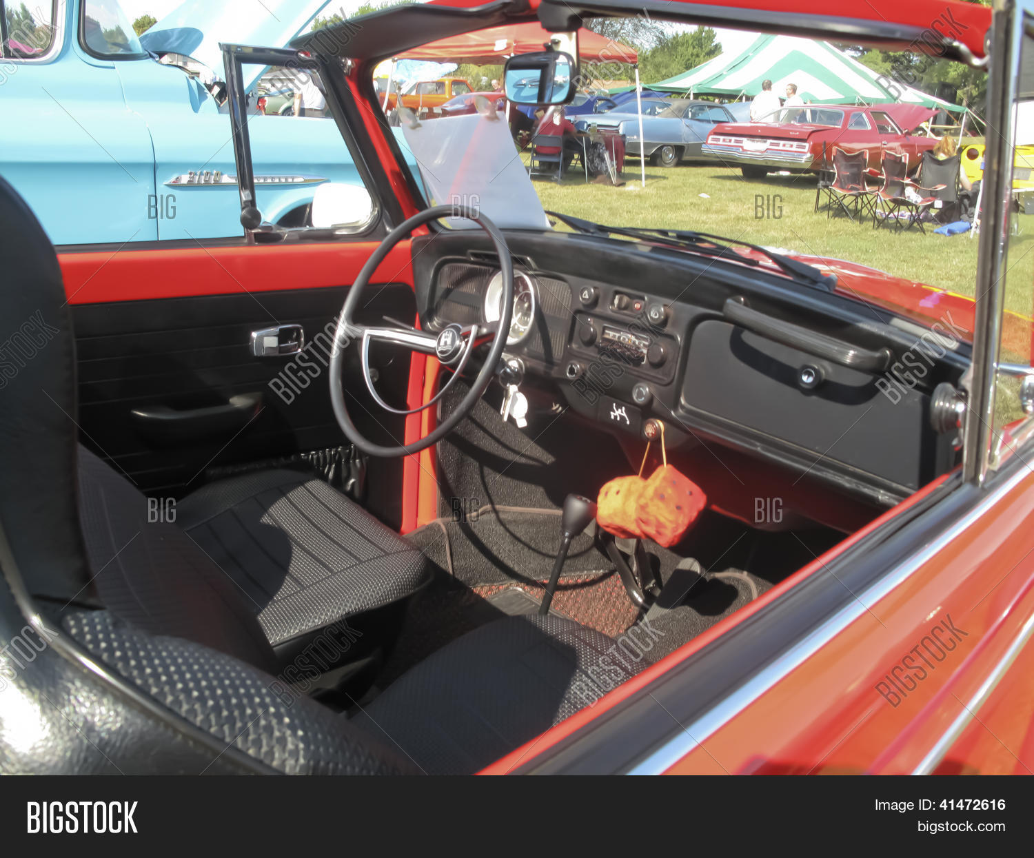 1971 red vw super image photo free trial bigstock 1971 red vw super beetle interior freerunsca Image collections