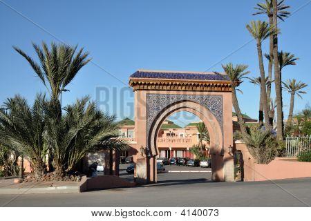Gate In Marrakech, Morocco