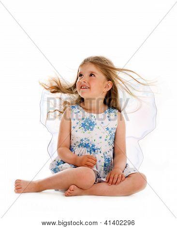 Sitting Little Fairy
