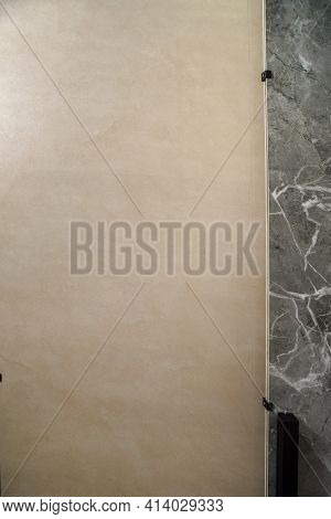 Porcelain Stoneware With A High-resolution Natural Stone Texture. Exhibitor Of Porcelain Stoneware F