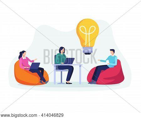 Business Meeting Teamwork Concept