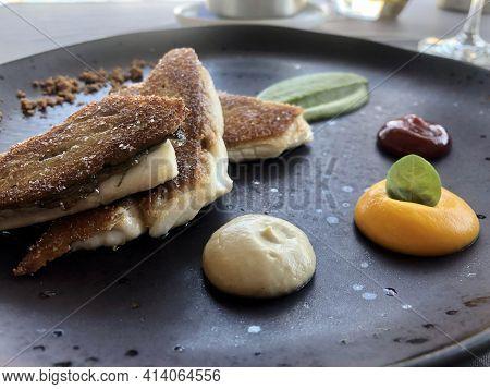 Fine Dining: Seabass Fillets With Crispy Skin
