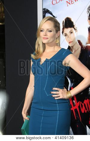 LOS ANGELES - JAN 23: Marley Shelton at the LA premiere of Paramount Pictures' 'Hansel And Gretel: Witch Hunters' at Grauman's Chinese Theater on January 24, 2013 in Los Angeles, California
