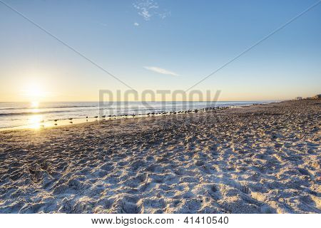 Cocoa Beach at Sunrise