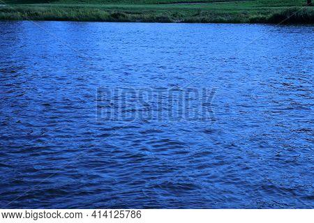 The Warta River Flowing Through Gorzów Wielkopolski