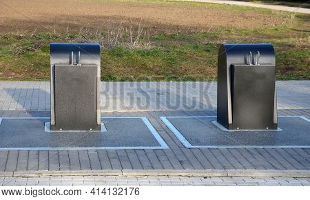 Underground Waste Sorting Containers Are Created. They Do Not Take Up So Much Space In A Square Or S