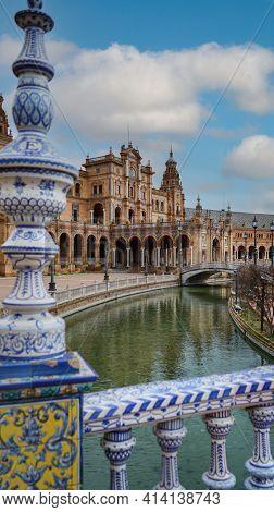 Seville, Spain. Spanish Square (Plaza de Espana)