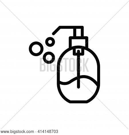 Liquid Soap Icon Isolated On White Background. Liquid Soap Icon In Trendy Design Style. Liquid Soap
